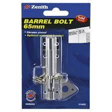 BARREL BOLT 65MM