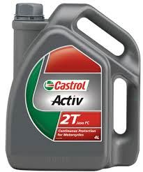CASTROL ACTIV 2T MOTORCYCLE OIL