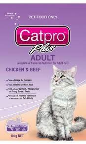 CATPRO ADULT CHICKEN + BEEF 10KG