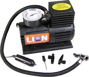 COMPRESSOR AIR 12v 250psi Blk