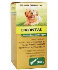 DRONTAL WORMING SUSPENSION FOR PUPPIES