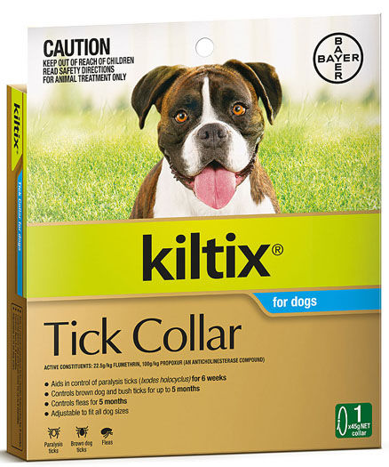 KILTIX FOR DOGS TICK COLLAR