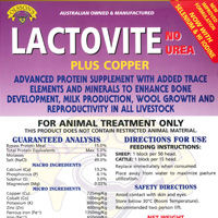 LACTOVITE PLUS COPPER BLOCK 20KG
