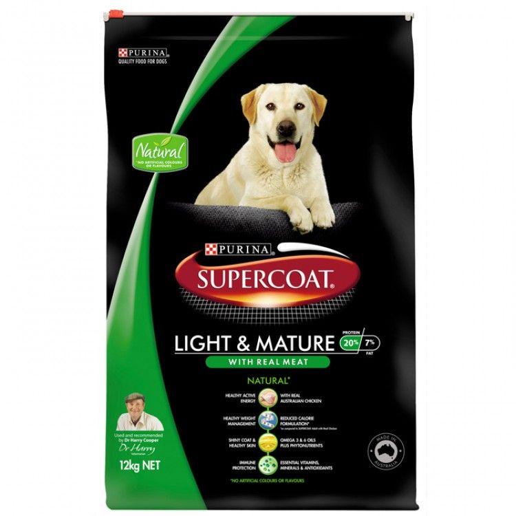 PURINA SUPERCOAT LIGHT + MATURE 18KG