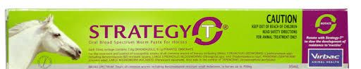 STRATEGY 35ML ORAL BROAD SPECTRUM WORM PASTE FOR HORSES