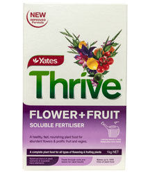 THRIVE FLOWER AND FRUIT 500GRMS