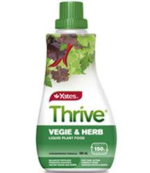 THRIVE VEGIE AND HERB LIQUID PLANT FOOD 500ML