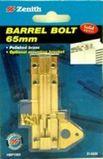 Bolt Barrel Brass 65mm