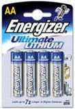 Energizer Battery Ultimate Lithium AA 4 Pack