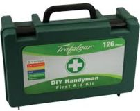 First Aid Kit DIY Handy 126pce