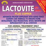 Lactovite Plus Copper Blocks 20kg