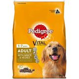 PEDIGREE VITAL PROTECTION ADULT WITH VEGIES + MINCE