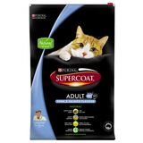 PURINA SUPERCOAT ADULT CATS SALMON + TUNA 8KG