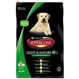 PURINA SUPERCOAT LIGHT + MATURE 18KG